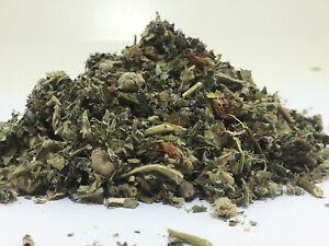 Raspberry & Marshmallow Leaf 100g ORGANIC  Herbal herb Infusion Tea Smoking