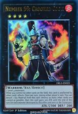 YuGiOh Number 59: Crooked Cook DRL3-EN025 Ultra Rare 1st Edition x3