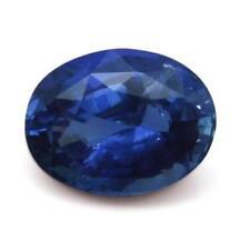 Gioielli e gemme di zaffiro naturale blu naturale del cuscino
