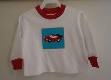 NIB Kelly's Kids Ryan Car Patch Applique Shirt Boy's Size 12M