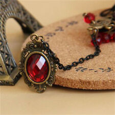 New Elegant Gothic Style Lace Red Rose Bracelet with Adjustable Finger Ring TO