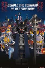 LEGO Ninjago Movie Garmadon Destruction - Maxi Poster 61cm x 91.5cm PP34190 017
