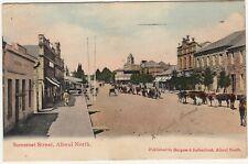 CGH: Postcard, Somerset St, Aliwal North: Aliwal North to Joburg, 11 Dec 1909