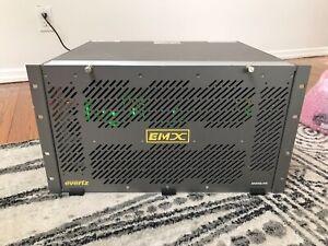 Evertz EMX6-FR EMR-IP32H (x5) EMR-XPT 288X288 (x2) EMX-FC (x2)