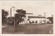 RPPC,Honolulu,Hawaii,City Hall,Kodak Hawaii Photo,# H-62,Used,1946