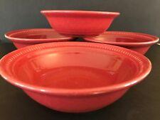 Dansk Craft Colors Rhubarb 4 - Bowls