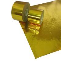 "FPRO35-RSA-02 PTP Silver Heat Reflective Sleeve Adhesive 5//8/"" x 4/'"
