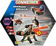 Connetrix Kids Construction Set Manual Driven 280 Pieces FREE Post Toys From NSW