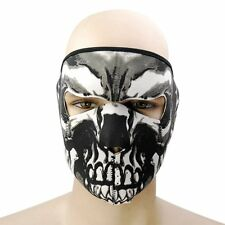 US Winter warm Skull Half Face Mask Motorcycle Cycling Ski Snow Headwear Ou