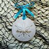 RIVIERA MAYA Sand Dollar Made with Sand Beach Ornament
