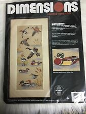 Dimensions Counted Cross Stitch Kit Ducks Waterbirds 8
