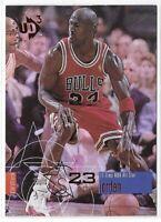1997-98 UD3 Michael Jordan Starstruck Holofoil Card No. 23 (BN)