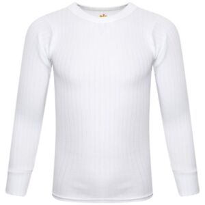 1X 2X SOFTY® Children Kids Thermal Underwear Long Sleeve T-Shirt Top Warm Vest