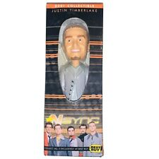 Justin Timberlake Bobblehead Doll 2001 Nsync Collectible Exclusive Best Buy Rare