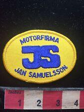 JS JAN SAMUELSSON MOTORFIRMA Patch - Race Car Driver 76V2