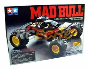 Tamiya EP RC Car 1/10 MAD BULL High Performance OFF Road Racer with ESC 58205