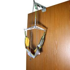 Over the Door Cervical Traction Set Neck Shoulder Head Pain Home Relief Brace
