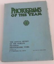 PHOTOGRAMS OF THE YEAR 1938  F.J MORTIMER