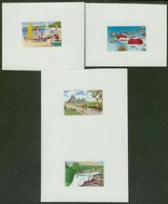 Mauritius 1971 Tourism set in progressive MASTER PROOFS