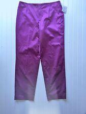 NEW Loulou de la Falaise Women's Size 16 Pants Purple Violet Polyester Blend NWT