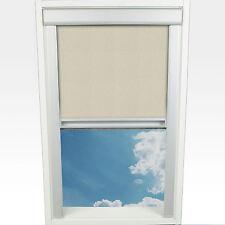 Liedeco Dachfensterrollo M. Seitl. Führungsschiene 38 3 X 54 0 Cm Fb. beige