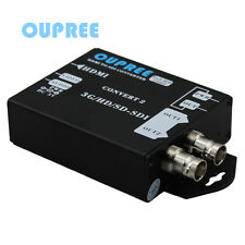 Oupree OPR-HS104 HDMI to SDI Video Converter Box, Max supports 1080p@60Hz fps