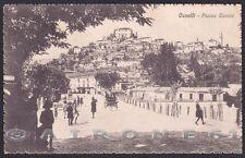 ASTI CANELLI 12 Cartolina viaggiata 1929