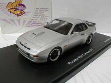 """Schuco ProR 08897 - Porsche 924 Carrera GT Baujahr 1981 """" silbermetallic """" 1:43"""