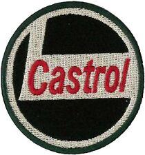 ECUSSON CASTROL VINTAGE LOOK BRODERIE BADGE RETRO