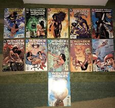 Awesome Wonder Woman Lot Of 11 ALL Adam HUGHES COVERS RARE SET SEE THE PICS!!
