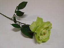 Rose Bauernrose Seidenblume Kunstlume Kunstpflanze orange 50 cm 010648OR F1