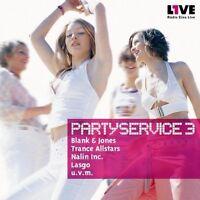 Partyservice 03 (2002, Radio Eins Live) Blank & Jones, Trance Allstars,.. [2 CD]