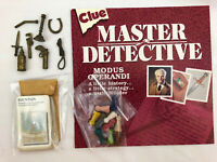 Clue Master Detective Board Game Replacement Parts Pieces