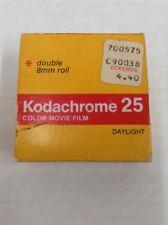 Vintage Kodachrome 25 Color Movie Film double 8 mm roll daylight KM 459