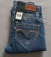 Damen Mädchen Jeans LEVIS LEVI´S Revel Demi Curve Skinny W23 L34