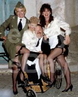 Allo Allo (TV) Kim Hartman, Sue Hodge, Gorden Kaye, Vicki Michelle 10x8 Photo