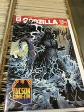 GODZILLA 2 RAGE ACROSS TIME  TUCSON COMIC CON EXCLUSIVE 3x SIGNED IDW