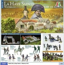 Battle Set Waterloo 1815 La Haye Sainte Full Pack Ed. Kit ITALERI 1:72 IT6197