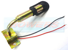 FLEXI DIN FLASHING ROTATING AMBER BEACON LIGHT MOUNT MOUNTING POLE STEM TRACTOR