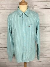Mens Hollister Shirt - Size Large - Striped - Great Condition