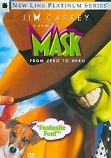 The Mask DVD 1994 Jim Carrey Widescreen