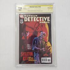 Detective Comics 879 CBCS NOT CGC 9.6 SS Signed by Francavilla & Scott Snyder