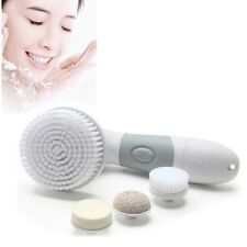 Electric Facial Cleansing Skin Waterproof Handy Face Body Scrub Deep Clean Brush