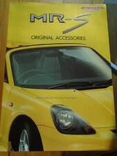 Toyota MRS Accessories brochure c2000 Japanese text