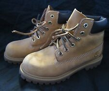 TIMBERLAND 12809 Boys Kids Wheat Nubuck Leather Field Boot Size 12
