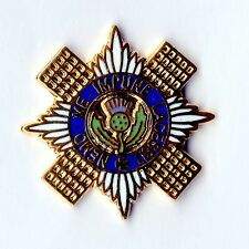 Enamel Lapel Badge SCOTS GUARDS