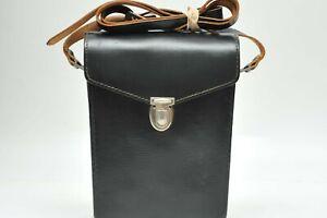 Leica Genuine Calf Leather Hard Binocular Case W/Leather Strap Ultravid Trinovid
