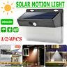 206 LED ad Energia Solare Sensore di Movimento Luce Giardino Esterno Muro