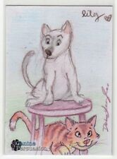 2018 5finity The Canine Persuasion Dean Yeagle & Lilia Costantino Sketch Card #3