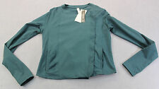 UNDER ARMOUR UA STUDIO LUX Womens GREEN FITTED STREET SLICK JACKET  NWT  L  $130